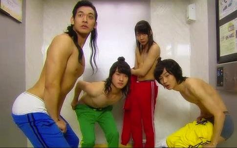 Joseon Power Rangers (as nicknamed on Viki)