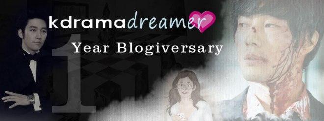 kdramadreamer 1 year blogiversary